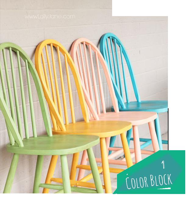 1 colorblock