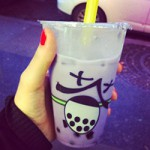 Bubble tea taro (Teawan)