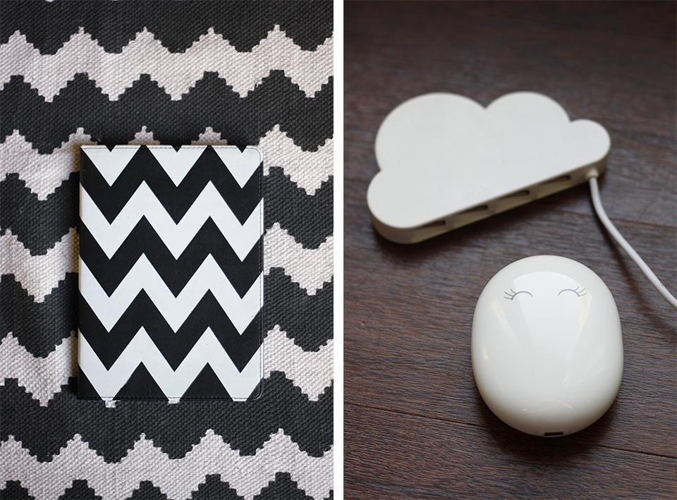 tapis-chevrons-noir-et-blanc-urban-outfitters-ipad-air-housse-hub-usb-nuage-beam-xoopar