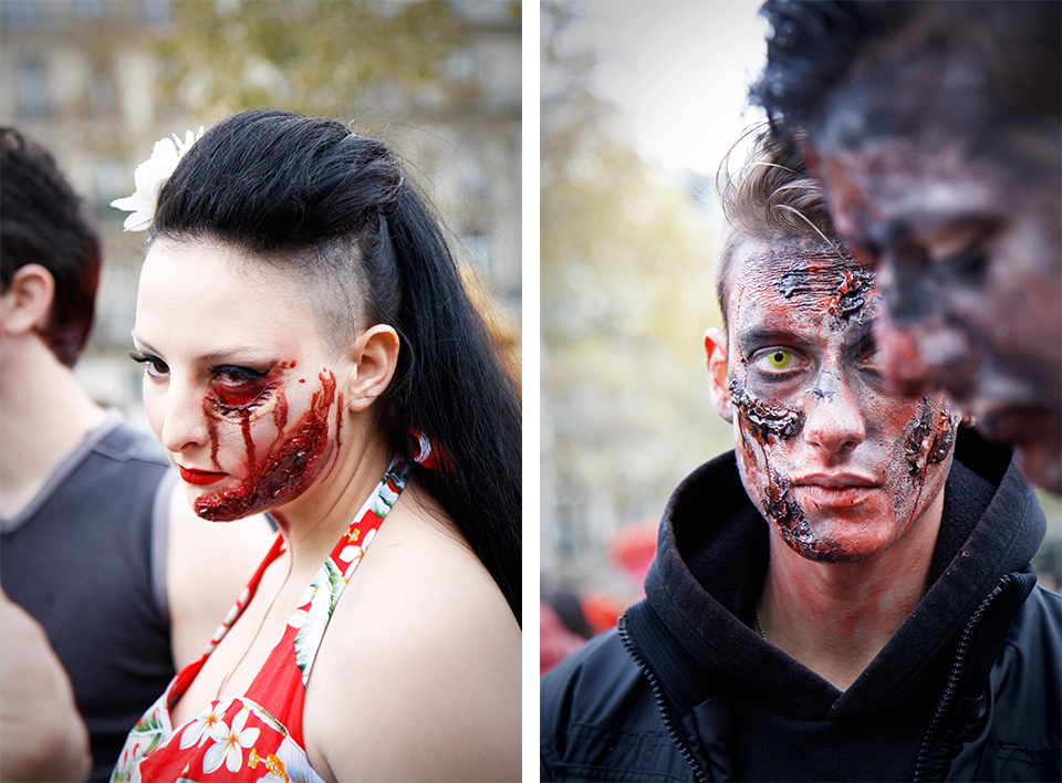 zombie walk paris 2014