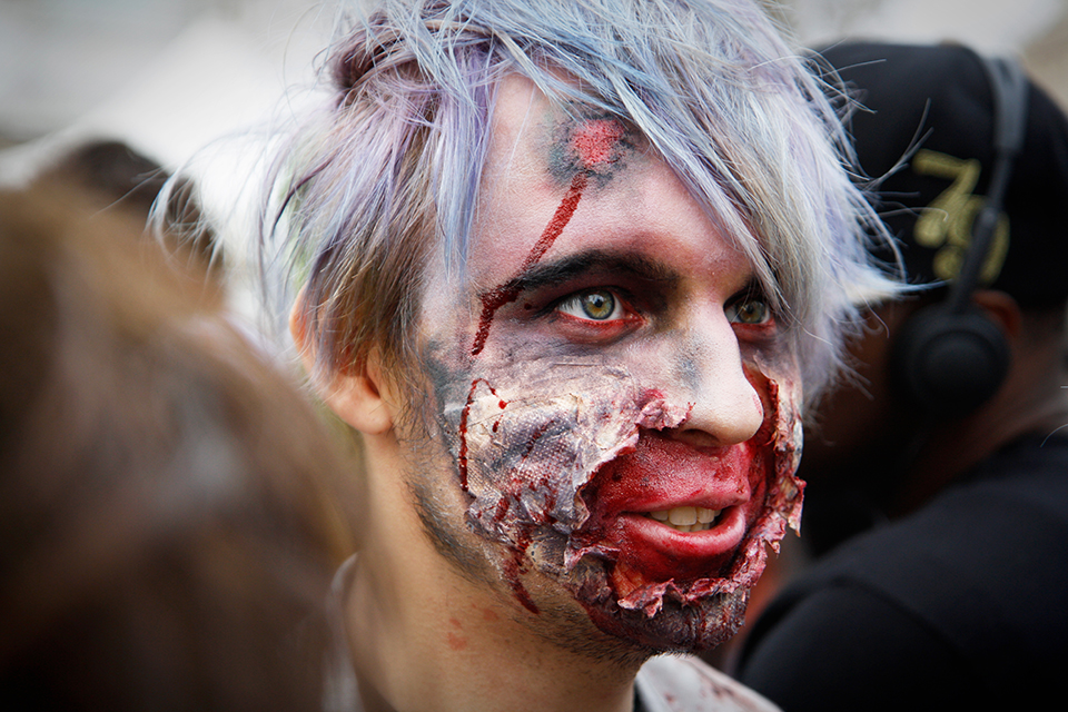 zombie walk paris 2014