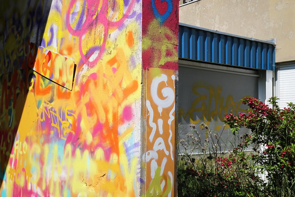 street art urbex