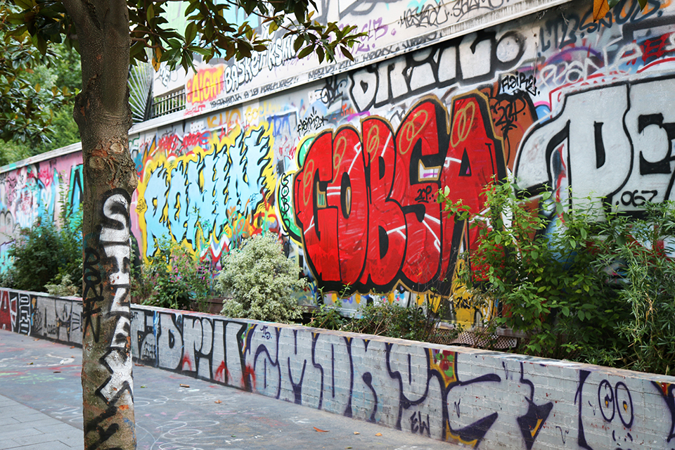 Paris street art rue Henri Noguères