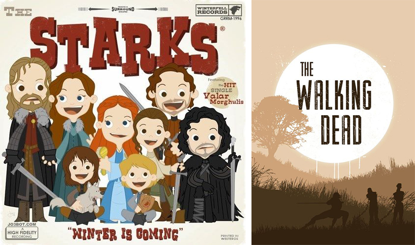 the-starks-the-walking-dead