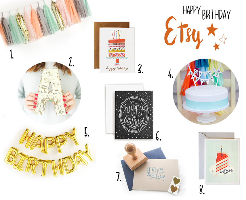 Wishlist Etsy birthday