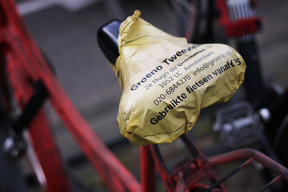 Amsterdam: les jolis vélos