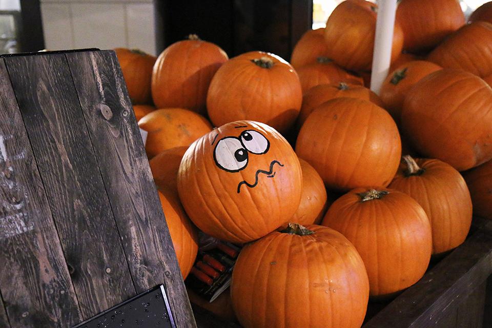 londres en automne halloween citrouille