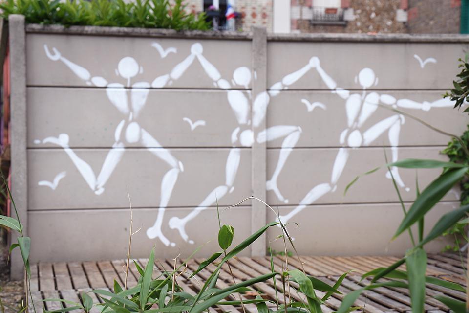 Expo street art Malakoff Jerome Mesnager