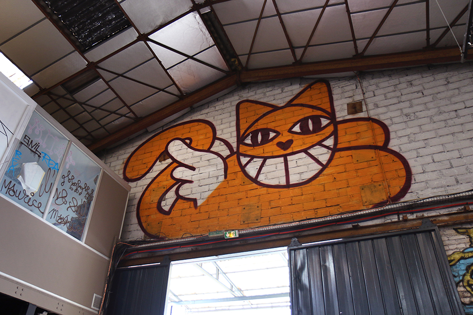 Expo street art Malakoff Mr Chat