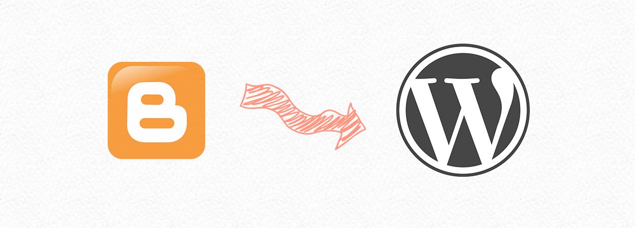 transfert blogger wordpress