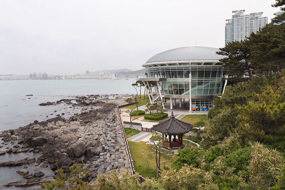 coree busan dongbaek apec house