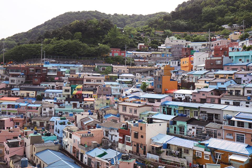 Gamcheon Culture Village Busan Corée